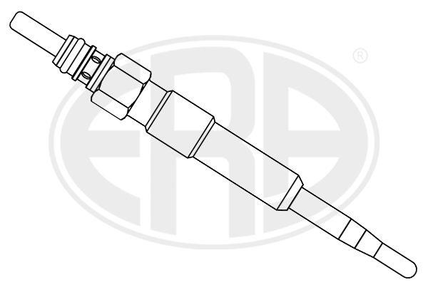 886017 ERA 5V Länge über Alles: 97mm, Gewindemaß: M10X1 Glühkerze 886017 günstig kaufen