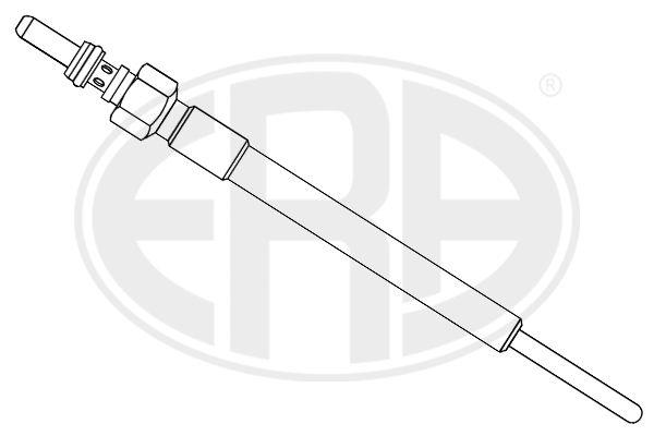 886122 ERA 7V Länge über Alles: 125mm, Gewindemaß: M8X1 Glühkerze 886122 günstig kaufen