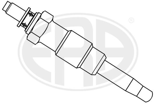 886125 ERA 18V Länge über Alles: 70,1mm, Gewindemaß: M12X1,25 Glühkerze 886125 günstig kaufen