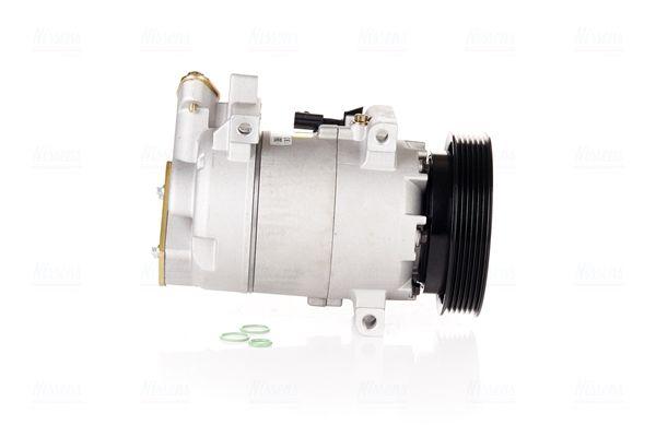 NISSENS: Original Kompressor Klimaanlage 890586 (Riemenscheiben-Ø: 125mm, Anzahl der Rillen: 6)