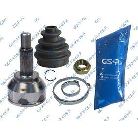 GCO99147 GSP Vorderachse Außenverz.Radseite: 27, Innenverz. Radseite: 24 Gelenksatz, Antriebswelle 899147 günstig kaufen