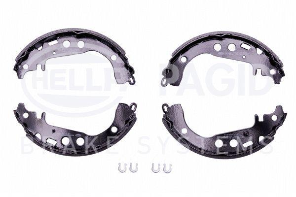 Bromsbackar 8DB 355 001-771 HELLA — bara nya delar