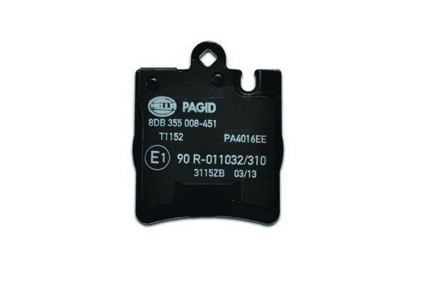 8DB355008451 Bremsbeläge HELLA 7753D876 - Große Auswahl - stark reduziert