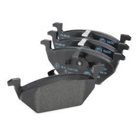 8DB 355 008-591 Bremsbelagsatz, Scheibenbremse HELLA - Markenprodukte billig