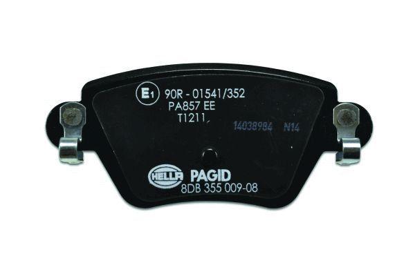 8DB355009081 Bremsbeläge HELLA 23557 - Große Auswahl - stark reduziert