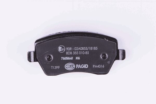 8DB355010-851 Bremsklötze HELLA Erfahrung