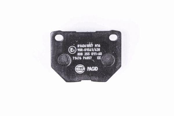8DB355011601 Bremsbeläge HELLA 7905D1004 - Große Auswahl - stark reduziert