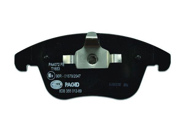 8DB355012891 Bremsbeläge HELLA 24124 - Große Auswahl - stark reduziert