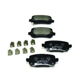 8DB355014331 Bremsbelagsatz, Scheibenbremse HELLA 24824 - Große Auswahl - stark reduziert