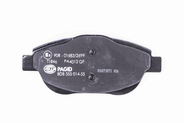 8DB355014551 Bremsbeläge HELLA 9156D1933 - Große Auswahl - stark reduziert
