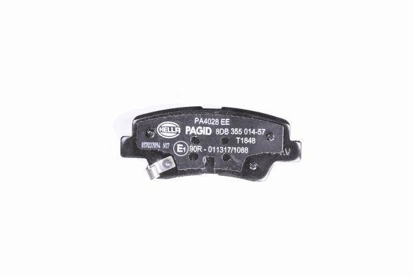 8DB355014571 Bremsbeläge HELLA 24936 - Große Auswahl - stark reduziert