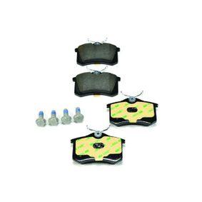 8DB355017711 Bremsbelagsatz, Scheibenbremse HELLA 7335D340 - Große Auswahl - stark reduziert
