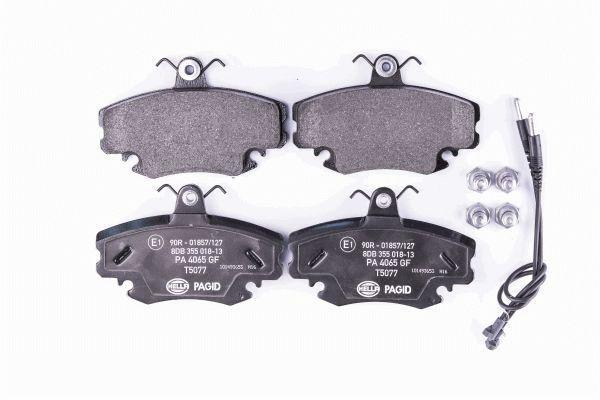 8DB 355 018-131 Bremsbelagsatz HELLA - Markenprodukte billig