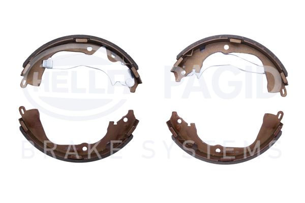 Bromsbackar 8DB 355 022-061 HELLA — bara nya delar