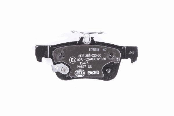 8DB355023301 Bremsbeläge HELLA 22233 - Große Auswahl - stark reduziert