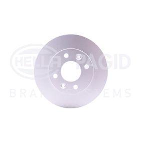 52803PRO HELLA PRO Voll, beschichtet, ohne Radnabe, ohne Radbefestigungsbolzen Ø: 238mm, Bremsscheibendicke: 12mm Bremsscheibe 8DD 355 101-241 günstig kaufen