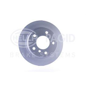 50442PRO HELLA PRO Voll, beschichtet, ohne Radnabe, ohne Radbefestigungsbolzen Ø: 272mm, Bremsscheibendicke: 10mm Bremsscheibe 8DD 355 104-821 günstig kaufen