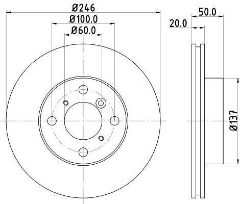 Δισκόπλακα HELLA 8DD 355 107-391 Kριτικές