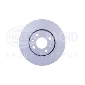 54192PROHC HELLA PRO High Carbon außenbelüftet, beschichtet, hochgekohlt, ohne Radnabe, ohne Radbefestigungsbolzen Ø: 260mm, Bremsscheibendicke: 22,0mm Bremsscheibe 8DD 355 127-881 günstig kaufen