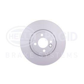 54835PROHC HELLA PRO High Carbon Innenbelüftet, beschichtet, hochgekohlt, ohne Radnabe, ohne Radbefestigungsbolzen Ø: 294mm, Bremsscheibendicke: 22,0mm Bremsscheibe 8DD 355 129-021 günstig kaufen