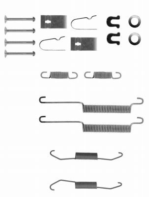 Originali Kit accessori, ganasce freno 8DZ 355 200-121 Honda