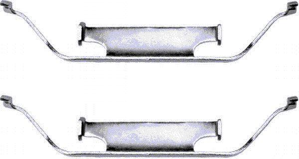 HELLA: Original Bremssattel Reparatursatz 8DZ 355 201-181 ()