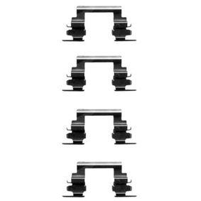 K0250 HELLA Accessory Kit, disc brake pads 8DZ 355 203-721 cheap