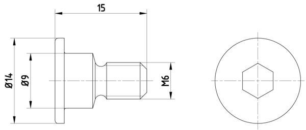 OE Original Schraube, Bremsscheibe 8DZ 355 209-011 HELLA