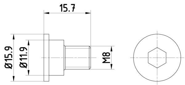 HELLA: Original Schraube, Bremsscheibe 8DZ 355 209-031 ()