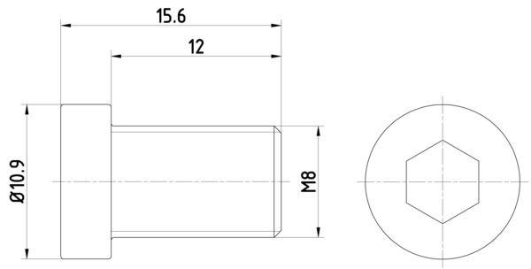 HELLA: Original Schraube, Bremsscheibe 8DZ 355 209-091 ()