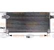 8FC 351 300-124 HELLA Kondensor, klimatanläggning: köp dem billigt