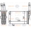 Wärmetauscher, Innenraumheizung 8FH 351 316-534 — aktuelle Top OE 60 25 371 298 Ersatzteile-Angebote