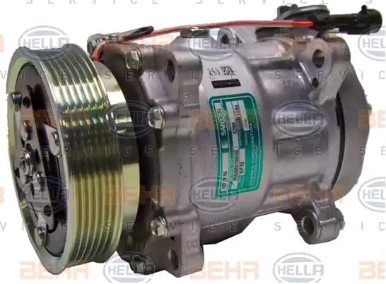 Original LANCIA Klimakompressor 8FK 351 106-451