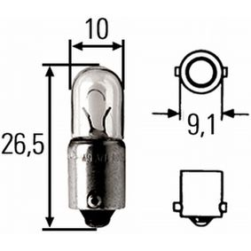 Kupte a vyměňte Zarovka, svetlo pro cteni (interier vozidla) HELLA 8GP 008 285-001