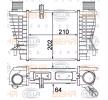 Ladeluftkühler 8ML 376 756-624 Clio III Schrägheck (BR0/1, CR0/1) 1.5 dCi 86 PS Premium Autoteile-Angebot