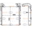 8ML 376 908-071 HELLA Ladeluftkühler für FAP online bestellen