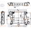 8ML 376 988-334 HELLA Ladeluftkühler für MERCEDES-BENZ online bestellen