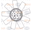 8MV 376 906-631 HELLA Lüfterrad, Motorkühlung für FAP online bestellen