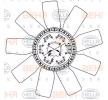 8MV 376 906-631 HELLA Lüfterrad, Motorkühlung für MERCEDES-BENZ online bestellen
