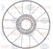 8MV 376 907-211 HELLA Lüfterrad, Motorkühlung billiger online kaufen