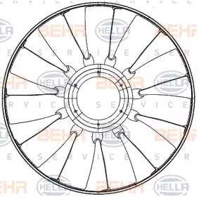 Lüfterrad, Motorkühlung HELLA 8MV 376 907-241 mit 20% Rabatt kaufen
