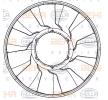 8MV 376 907-271 HELLA für MERCEDES-BENZ ECONIC 2 zum günstigsten Preis