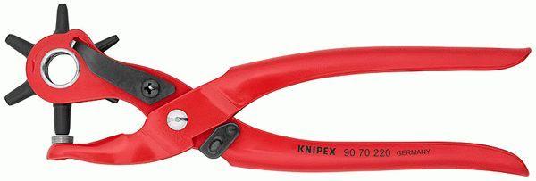 90 70 220 SB KNIPEX Länge: 220mm Lochzange 90 70 220 SB günstig kaufen