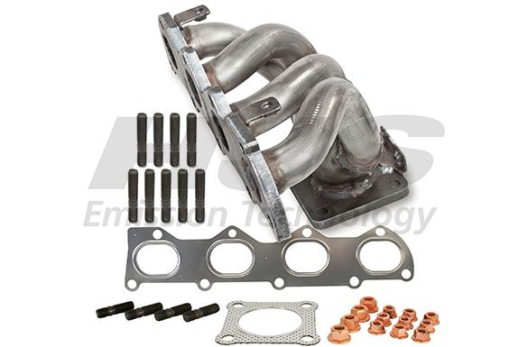 Volkswagen EOS 2015 Exhaust header HJS 91 11 1636: with mounting parts