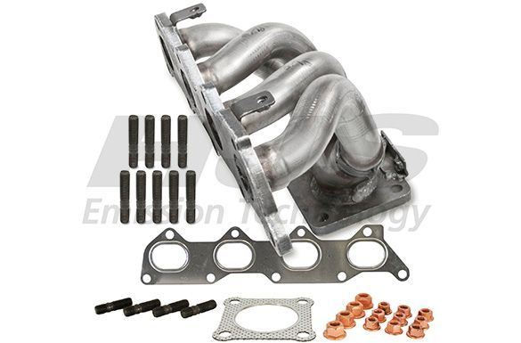 Audi A4 2004 Exhaust manifold HJS 91 11 1637: with mounting parts