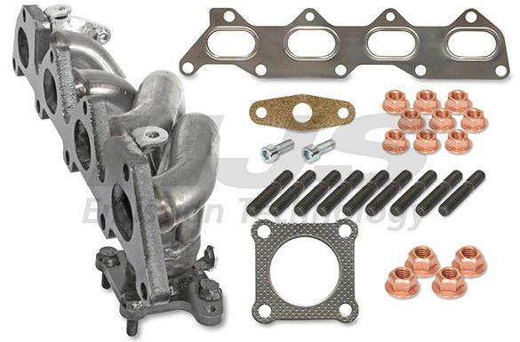 Volkswagen TIGUAN Manifold exhaust system HJS 91 11 1646: with mounting parts