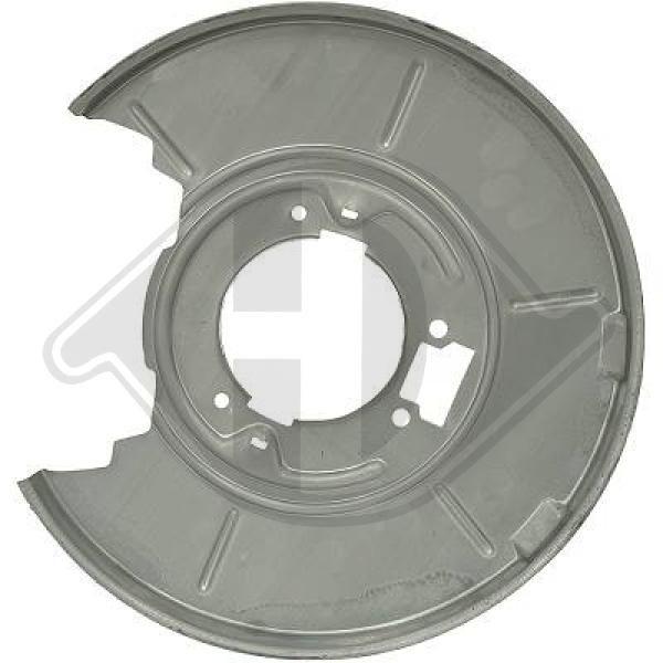 DIEDERICHS: Original Bremsscheiben Schutzblech 9119052 ()