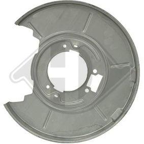 9119052 DIEDERICHS Rear Axle Right Splash Panel, brake disc 9119052 cheap