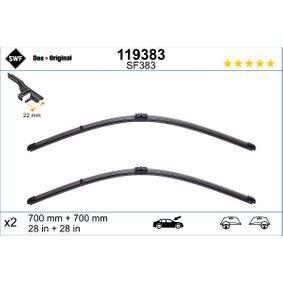 119383 SWF VisioFlex vorne, Rahmenlos, Länge: 700mm, 28/28Zoll Styling: mit Spoiler Wischblatt 119383 günstig kaufen