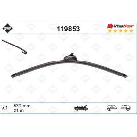 Pirkt 119853 SWF VisioNext Bez karkasa, 530mm Noformējums: ar spoileri Stikla tīrītāja slotiņa 119853 lēti